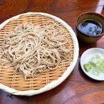 深大寺そば 青木屋 - 料理写真:もりそば(700円)