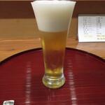枯淡 - 生ビール アサヒスーパードライ 560円 (2021.5)