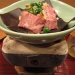 枯淡 - 朴葉焼き (ききょう)