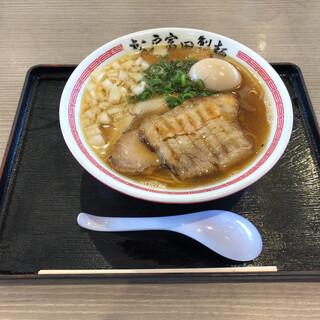 """松戸富田製麺 - 料理写真:""""特製煮干そば""""1,120円♪"""