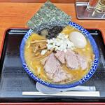 肉煮干中華そば 鈴木ラーメン店 - 「味噌中華そば その四」¥880+「味玉」¥100