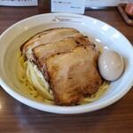 151189827 - つけ麺  チャーシュー  味玉