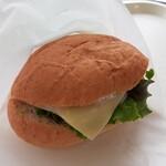 エレファントカフェ - 料理写真:かみねバーガー・420円