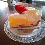 コム レ フルール - ショートケーキを食べてみた