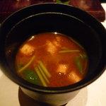 割烹 まつもと - ☆お寿しランチの赤出汁(*^^)v☆