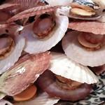ささの葉 - 貝の焼き