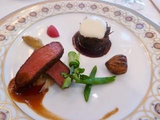 ル シエール - 牛フィレ肉のポワレとブレゼ