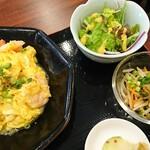 151201482 - えびトマト卵のフワフワ炒め  ¥880(税込)