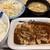 松屋 - 料理写真:「厚切りトンテキ定食ポテサラセット トンテキソース」750円也。税込。