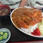 よし味食堂 - ロースカツカレー1,150円