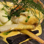 レストラン カズ - オマール海老の出汁が濃厚なソース