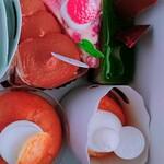 よつばのクローバー - 料理写真:蒸し焼きショコラ(¥390)いちごのプディングタルト(¥380)ピスタッシュ(¥400)サヴァラン(¥340)清見オレンジのタルト(¥390)。 家族にも大絶賛。