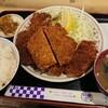 うえはら - 料理写真:ハムカツ定食 800円