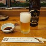 吉野鮨本店 - ビール