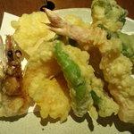 Wabisabiya - 天ぷら5種盛り