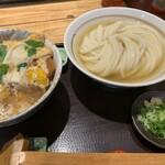 151221255 - カツ丼セット(¥1100)