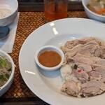 クルアタイ - 蒸し鶏ご飯セット1