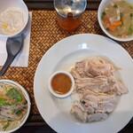 クルアタイ - 蒸し鶏ご飯セット2