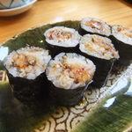 梅乃寿司 - 10/3 穴子巻。