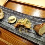 15123252 - 栗、鰆、ズッキーニのゴルゴン味、椎茸