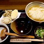 151235815 - 20210511ひやかけうどん&野菜天3種
