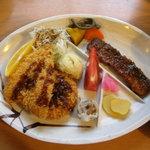 剣山荘 - 夕食