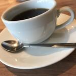 カフェ アンド レストラン オーガリ - ランチコースのドリンク コーヒー
