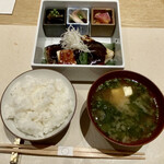 GINZA KUKI - 〔煮ないサバ味噌〕 1,650円(税込み) 2021年5月時点