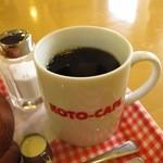 コトカフェ - ホットコーヒー¥380