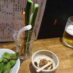 15125824 - 枝豆と野菜スティックとつけ味噌スターターセット