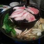 銀座豚本舗 - 銀座豚本舗(金華焼鍋)