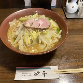 酔亭 - 料理写真:味噌ラーメン