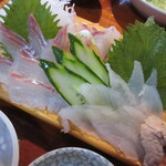 ふるさと家族 - 料理写真:【刺身盛り合わせ小】アップ♪