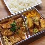 博多水炊き 大和 - 豚の生姜焼き弁当