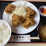 とりかん - とりから揚げ定食¥1,000(+税)