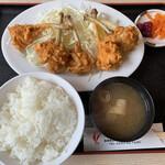 とりかん - チューリップ定食¥900(+税)