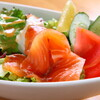 Kicchimmirupowa - 料理写真:サーモンマリネのサラダ