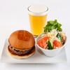 UMAMI BURGER - 料理写真:beer&salad set