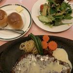 味のレストラン えびすや - サーロインステーキコース
