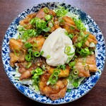 タマゴパーラー - 鶏の唐揚げ甘酢マヨ丼