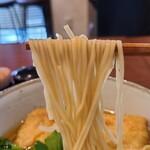 中華蕎麦 きつね - 麺リフ
