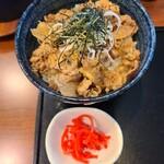 中華蕎麦 きつね - 牛しぐれ丼