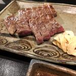 鉄板焼 木場 - 料理写真:瀬戸コース 特選和牛サーロインステーキ(120g)