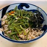 江戸丸 - ぶっかけ¥370山菜¥120