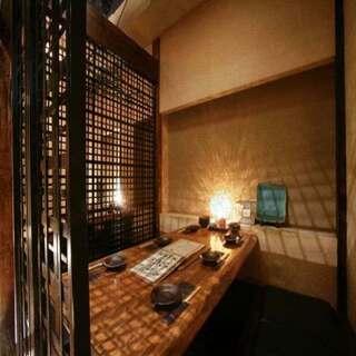 【完全個室ございます】個室は2名様~寛ぎの和モダン空間