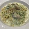ザ シティベーカリー - 料理写真:牡蠣と生海苔のクリームパスタ