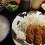 恋鯉 - カキフライ定食