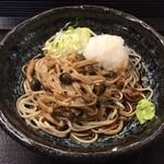 嵯峨谷 - きのこおろし蕎麦