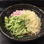 嵯峨谷 - 冷やしたぬき蕎麦