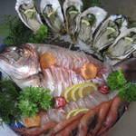 南風荘 - 料理写真:鯛のお造り